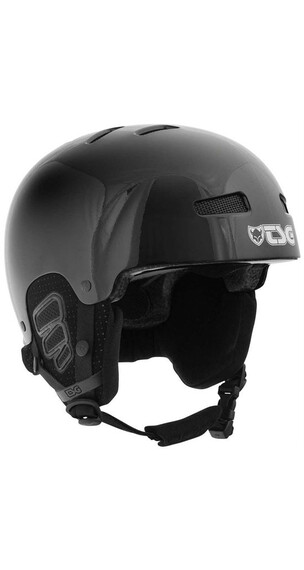TSG Kids Gravity Youth Solid Color Gloss Black